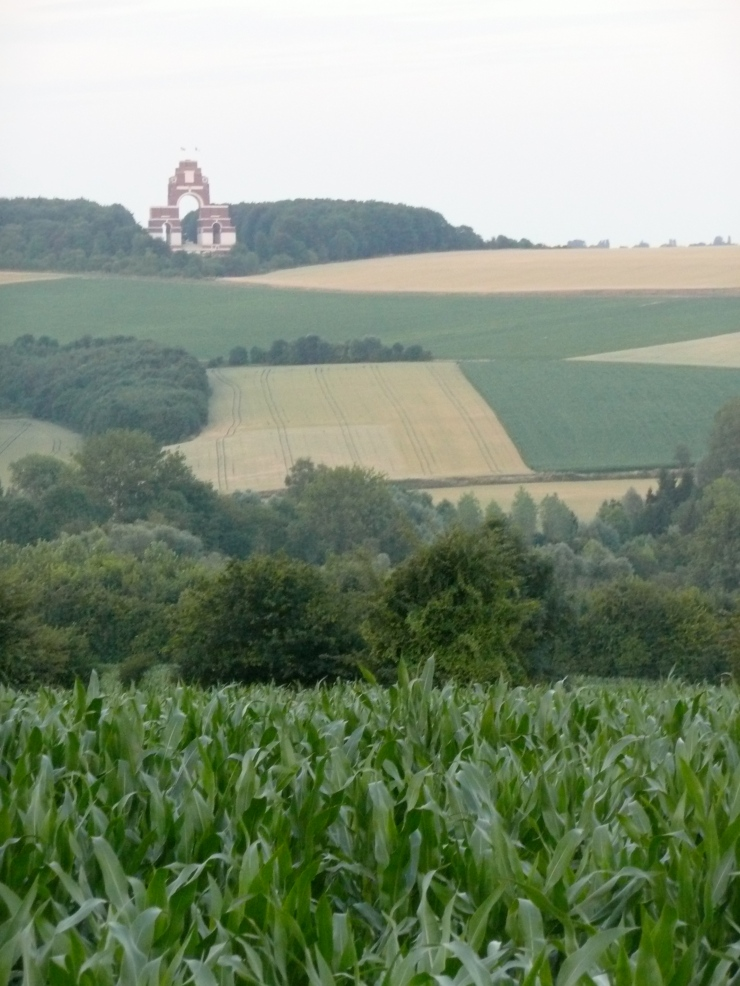 Thieval Memorial, one of the largest British war memorials, commemorates 17,000 dead or missing