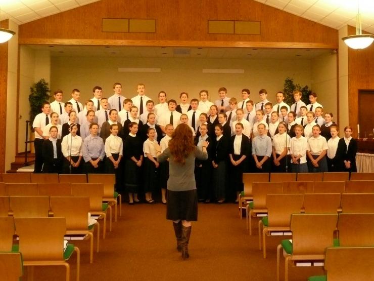 Graduation choir 2012