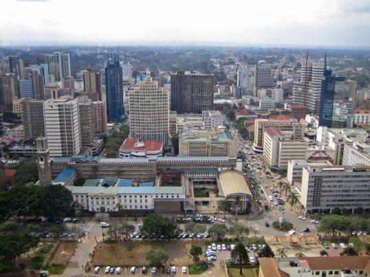 Nairobi skyline. Kenyanview.com