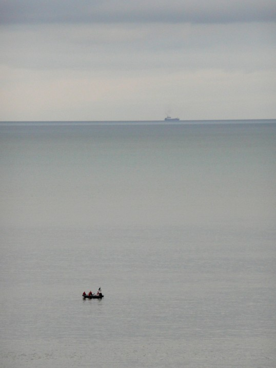 The English Channel between Greystones and Bray, November 2007