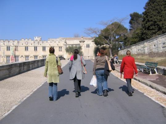 Avignon, France, Spring 2005