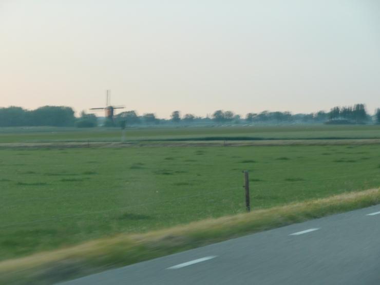 Old windmill near Waspik, the Netherlands, 2010