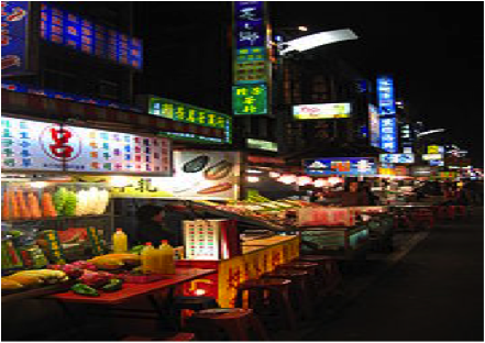 Night markets are the best (but inexpensive) place to explore the delicious Taiwan!