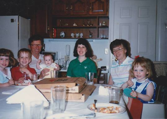 Pizza Hut at Grandma's
