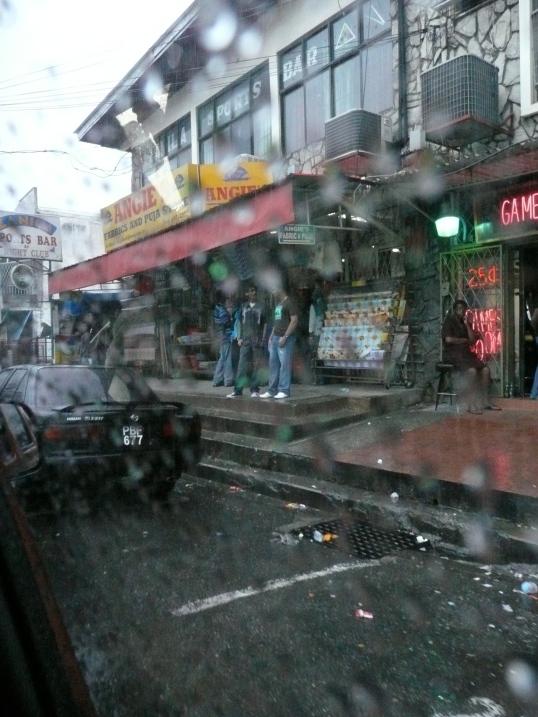 Rain fallin, August 2010
