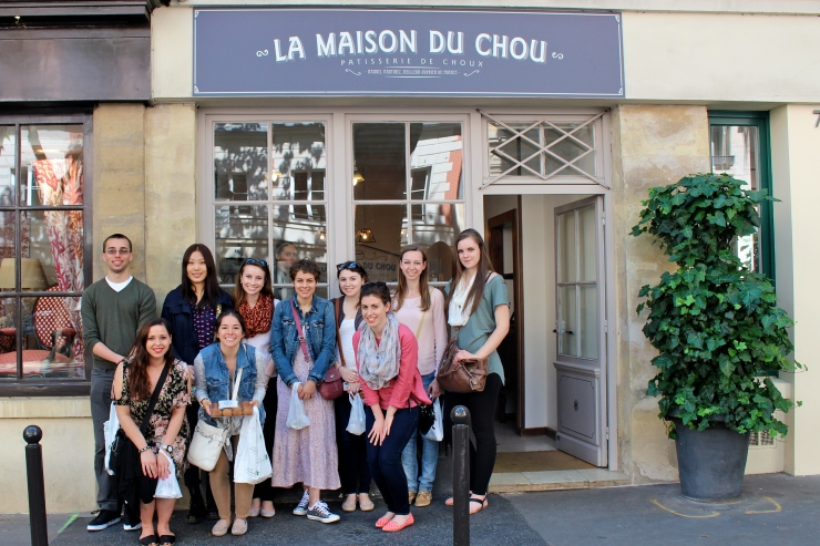 Students in Paris, June 2014
