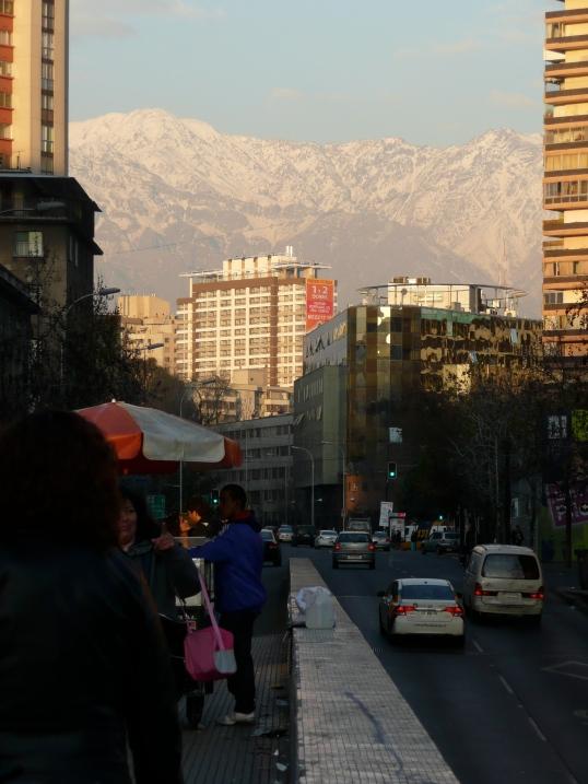 Santiago, Chile 2012. A standby venture