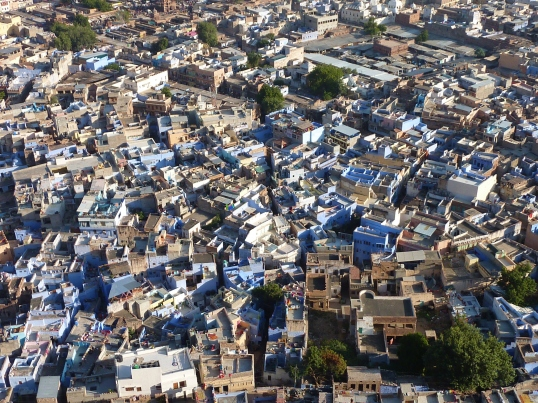 Jodhpur, India (the blue city) (2010-2011)